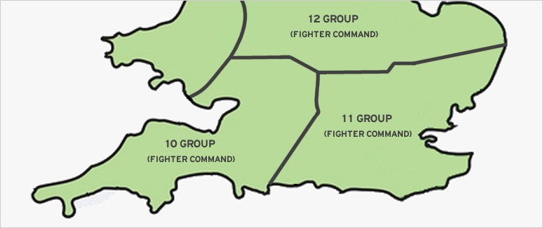10 Group (Fighter Command) is formed