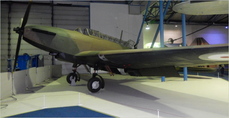 Fairey Battle Mk I which was part of the Advanced Air Striking Force sent to France by the RAF