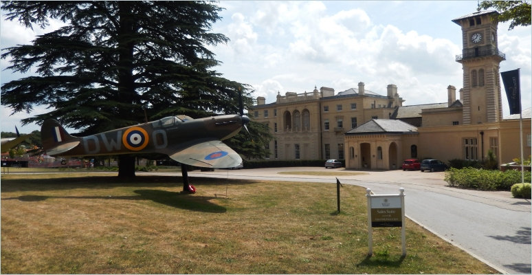 Bentley Priory as it looks today