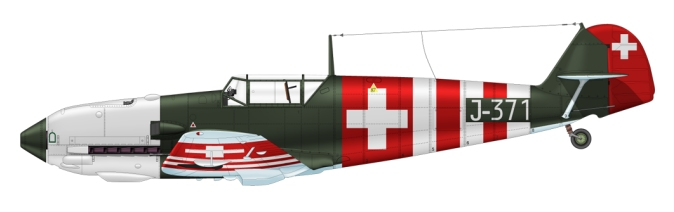 Swiss Air Force neutrality bands