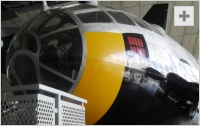 B-29 Superfortress front view photo