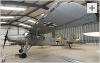 Storch side view photo