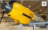 Bf 109 front view photo