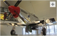 P-51 Mustang front view photo
