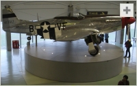 P-51 Mustang side view photo