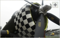 P-47 Thunderbolt front view photo