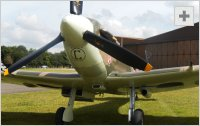 Spitfire front view photo