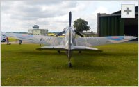 Spitfire rear view photo